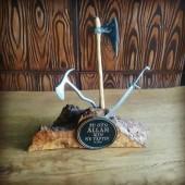 Hediyelik Masaüstü Mini Balta Kılıç Seti