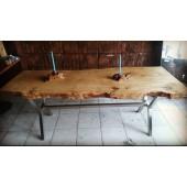 Doğal Ağaç Yemek Masası 02