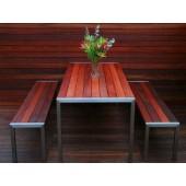 Krom Çelik Piknik Masası 01