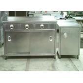 Paslanmaz Endüstriyel Mutfak Tezgahı