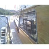 Paslanmaz Çelik Tekne Cam Çerçevesi 02
