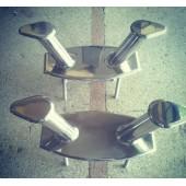 Paslanmaz Çelik Tekne Koç Boynuzu 02